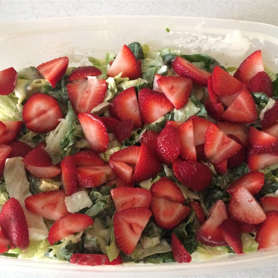 Strawberry Summer Salad Xavier