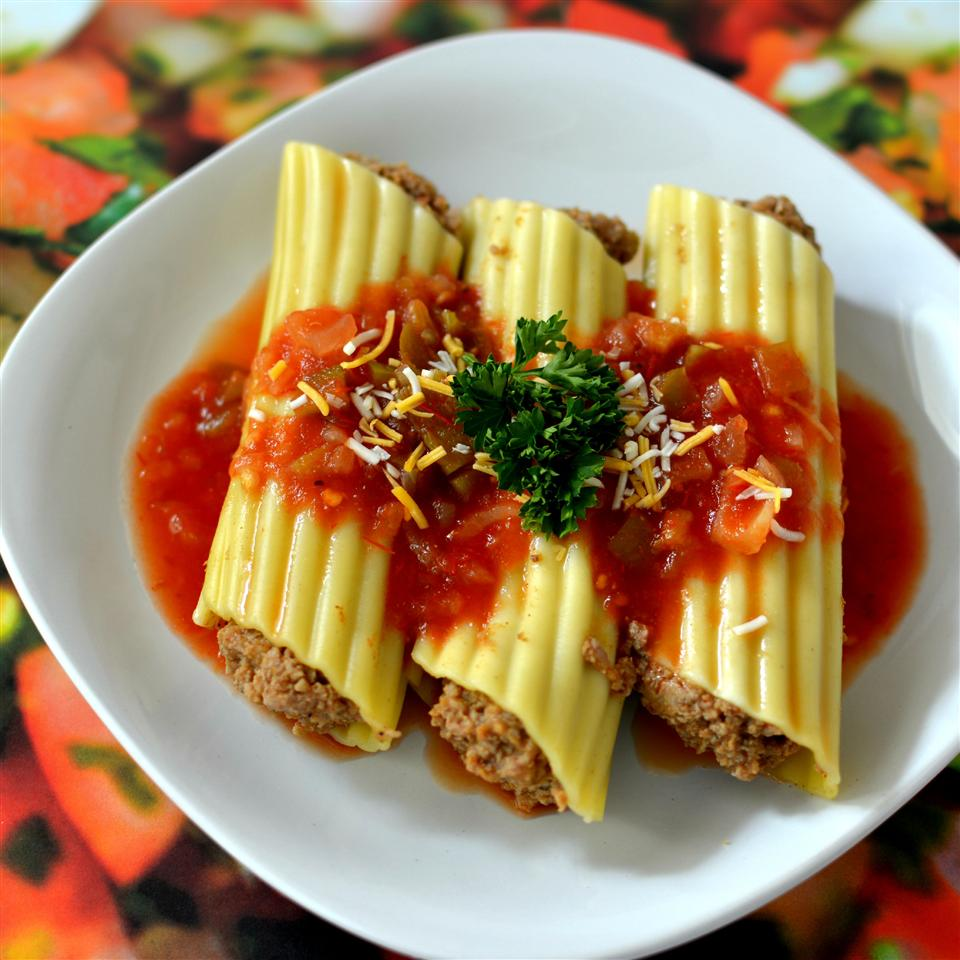 Microwave Mexican Manicotti Jody Campos Dowling