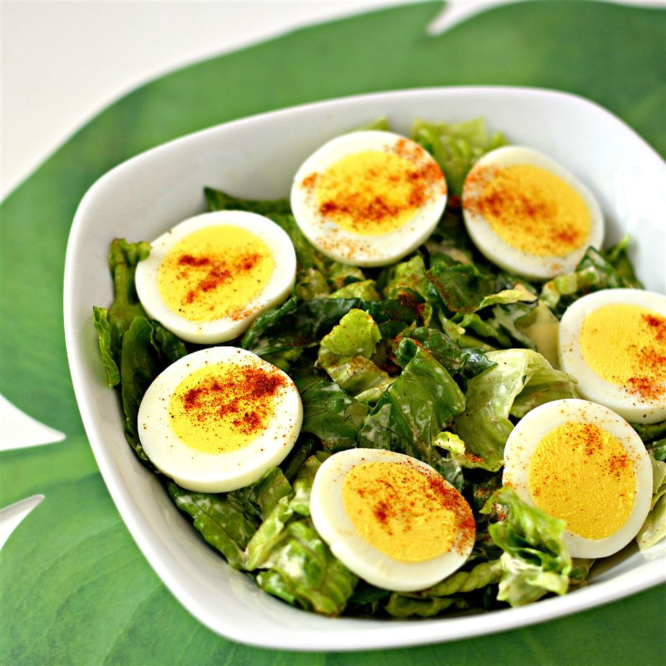Deviled Egg Salad with Romaine Seahorsie