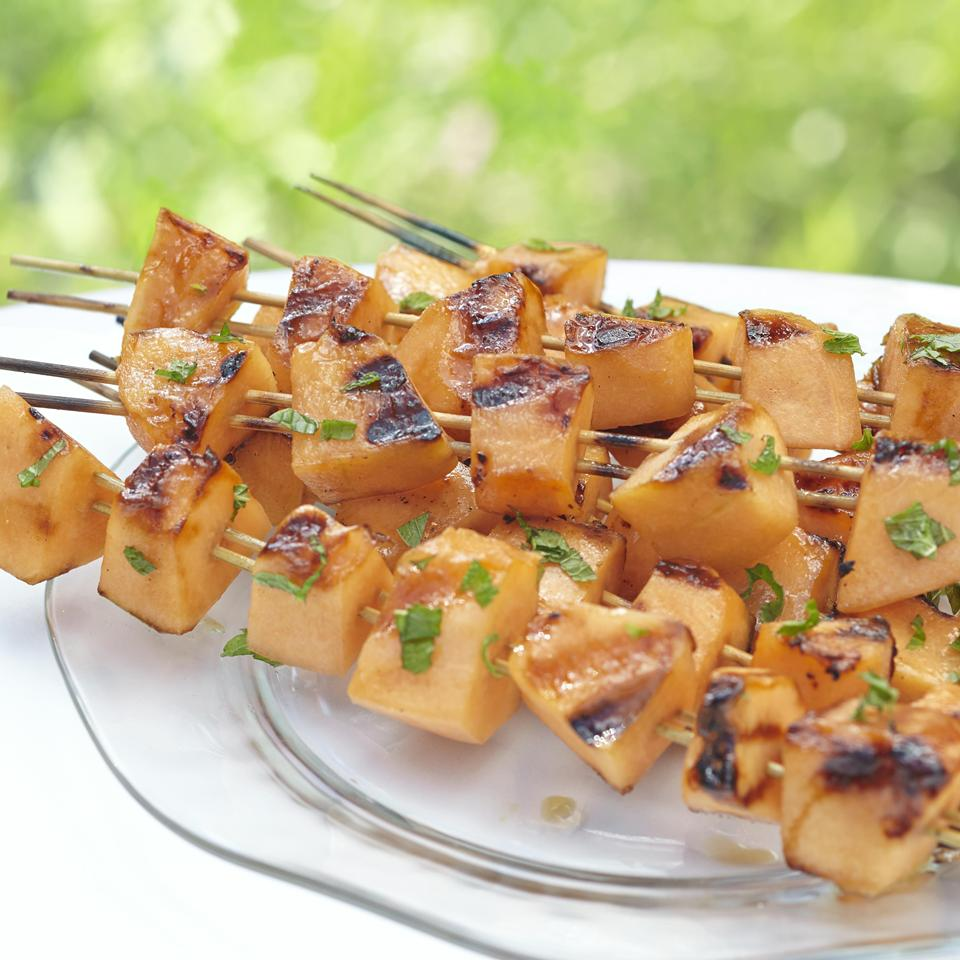 Skewered Cantaloupe Allrecipes Magazine