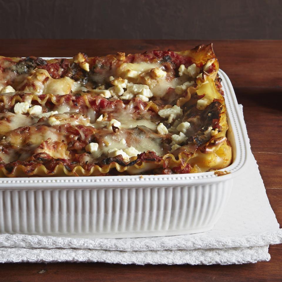 Artichoke Spinach Lasagna Allrecipes Magazine