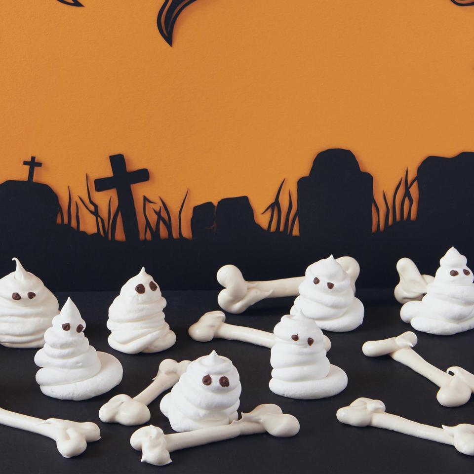 Meringue Bones and Ghosts