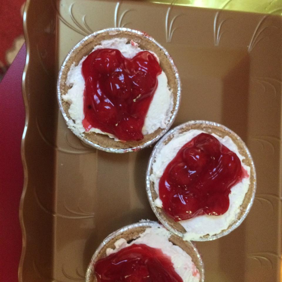 Cherry Cheese Pie I yummyyum