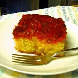 Rhubarb Upside Down Cake III whodunitrdr
