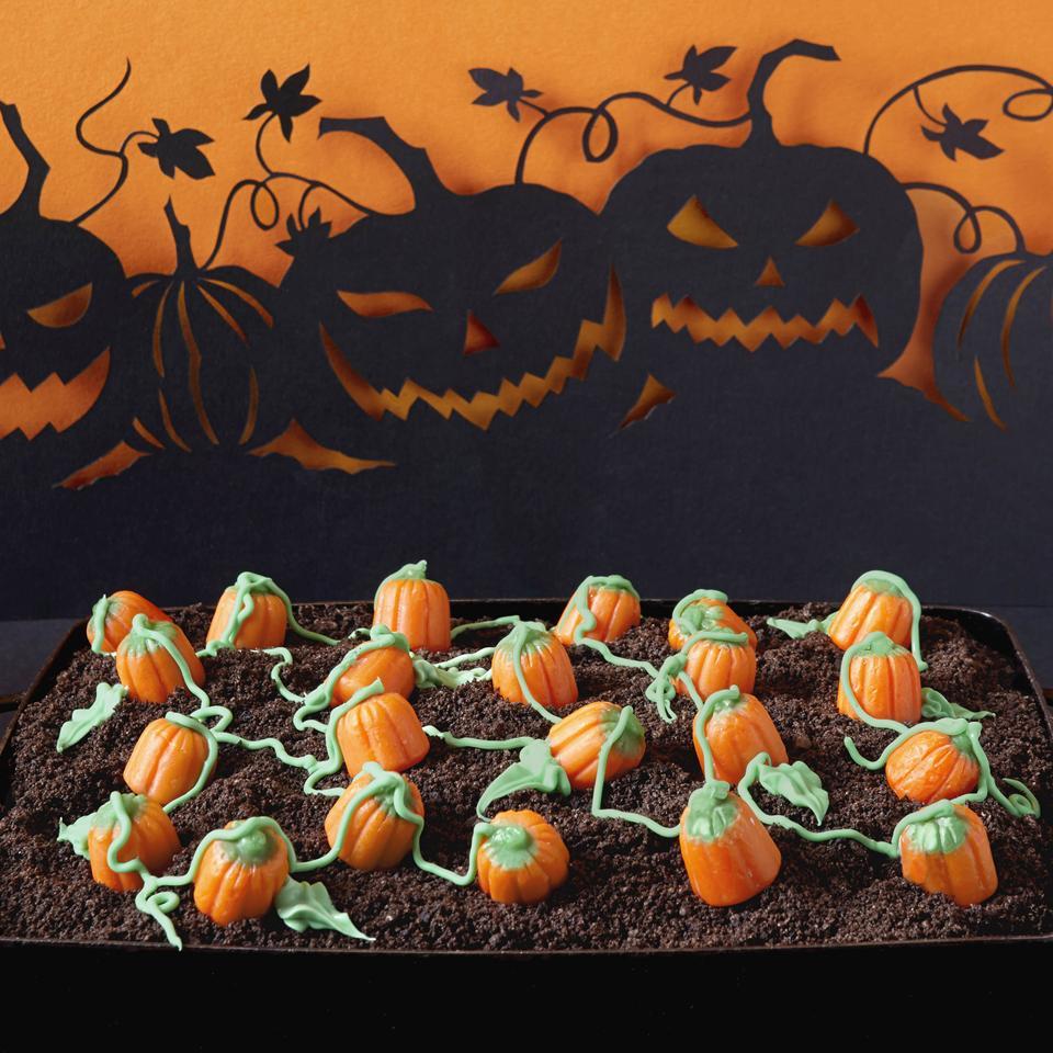 Pumpkin Patch  Dirt  Cake