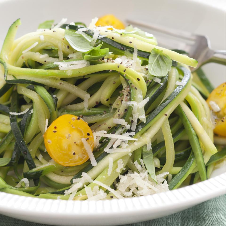 Low-Carb Zucchini Pasta