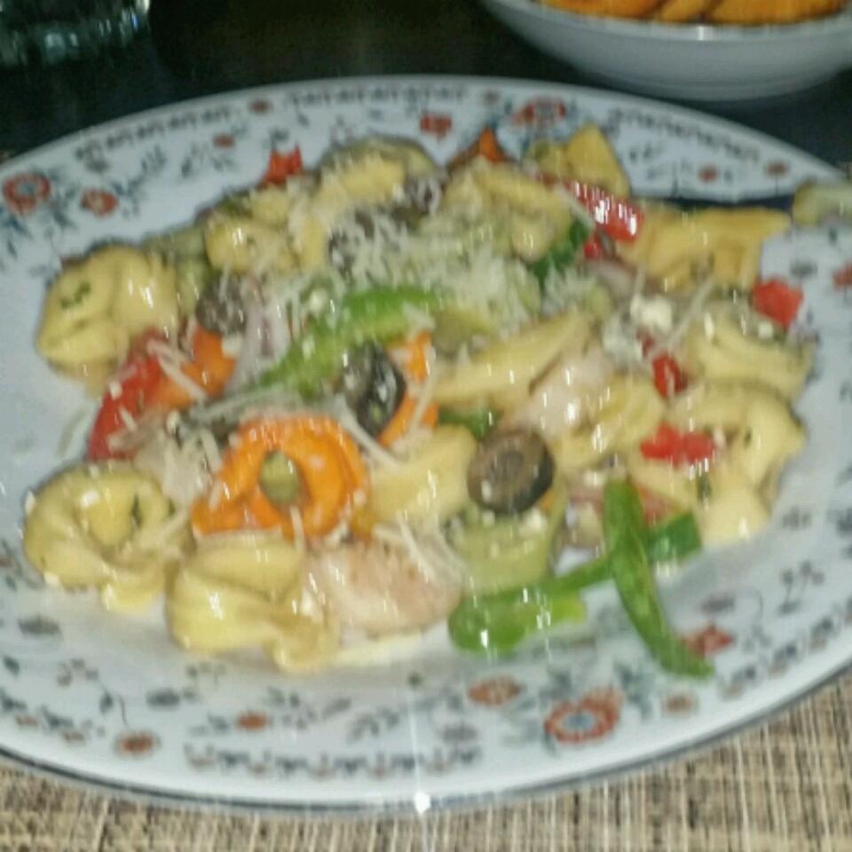 Charlotte's Tortellini Salad Mi'Chelle Cooper-Tahirou
