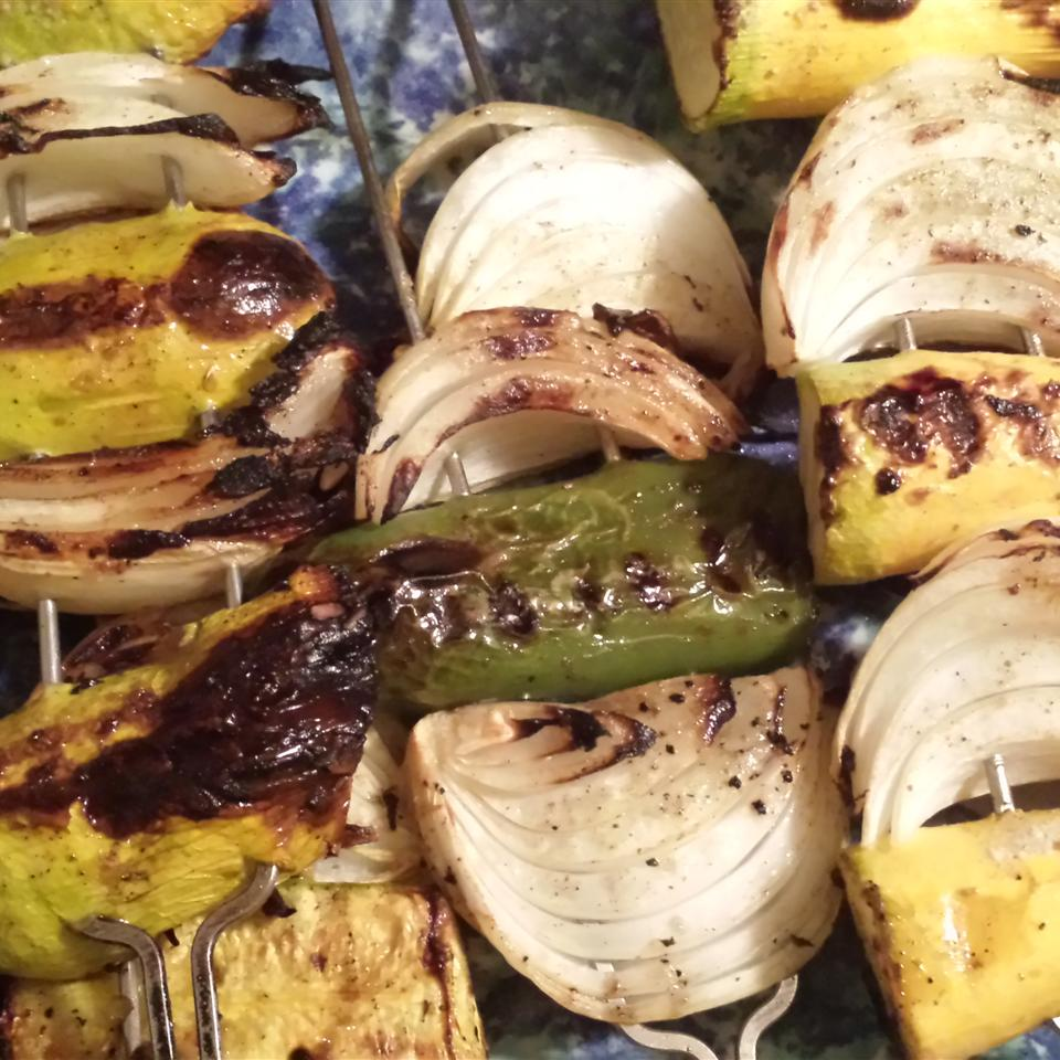 Grilled Lemon-Pepper Zucchini