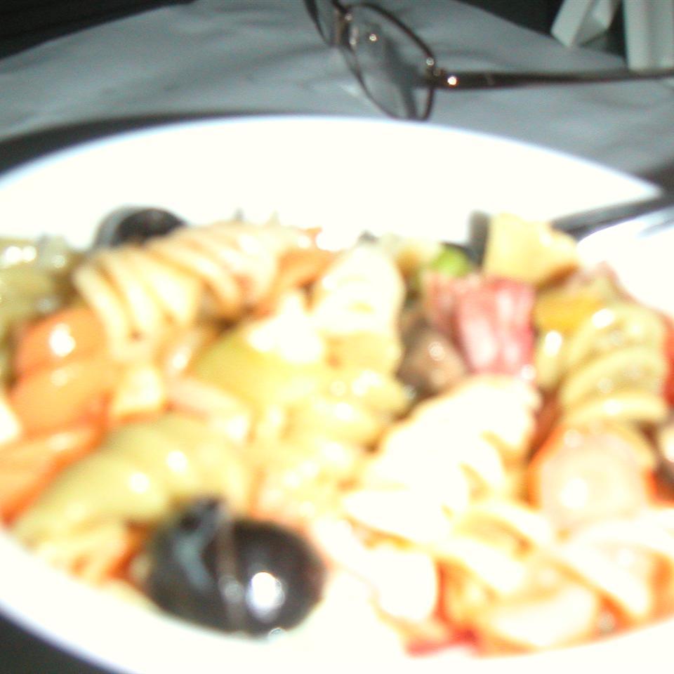 Ellen's Muffaletta Pasta Salad Ellen Bancroft Ziegler