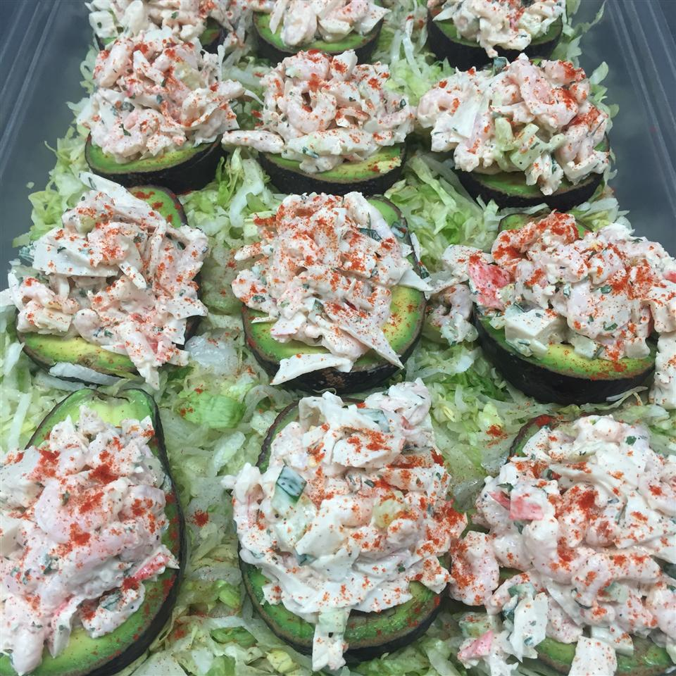 Seafood Stuffed Avocados Grover Harris