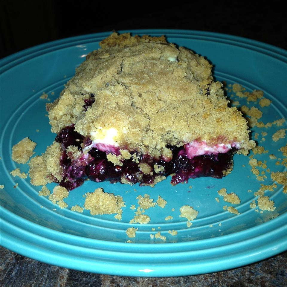 Saskatoon Berry Cream Cheese Crumb Cake Corrina