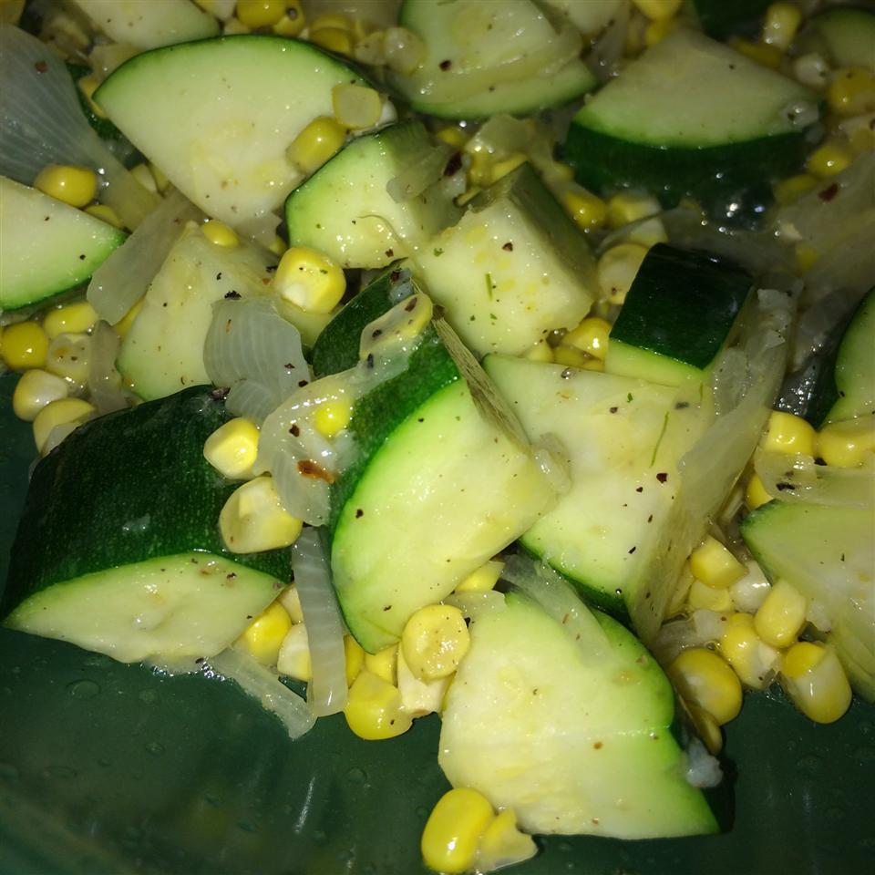 Fresh Corn and Zucchini Saute Christine Hughes