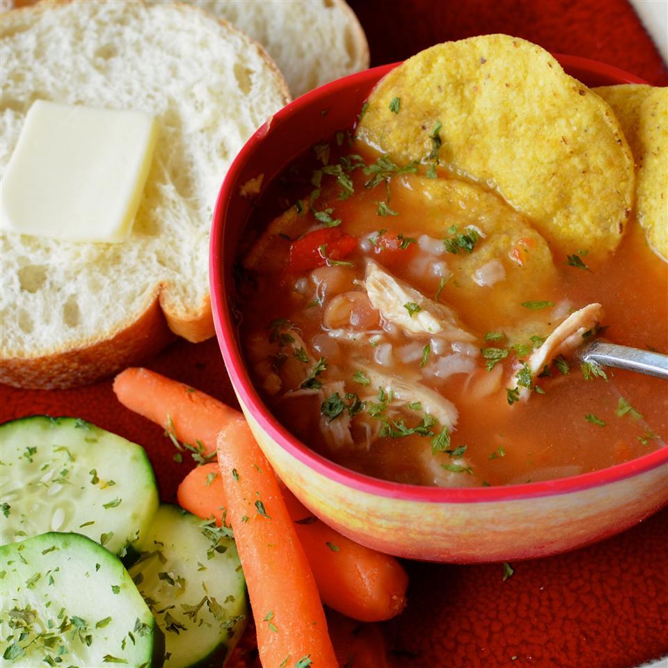Salsa Chicken Soup Lela