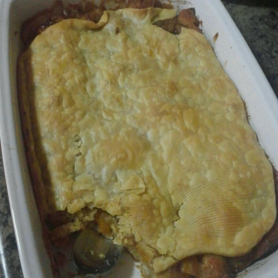 Butter Biscuit Peach Cobbler Tammy M Curry