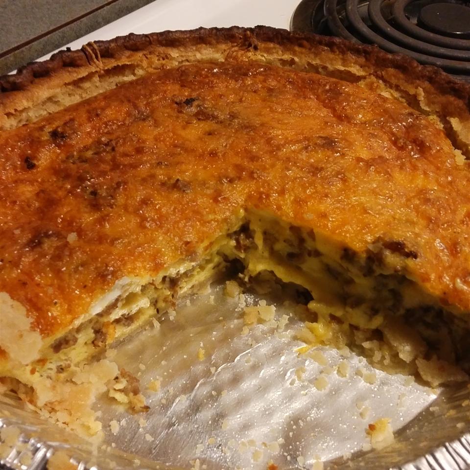 Quiche (Southern Egg Pie) Brittany J Garrison