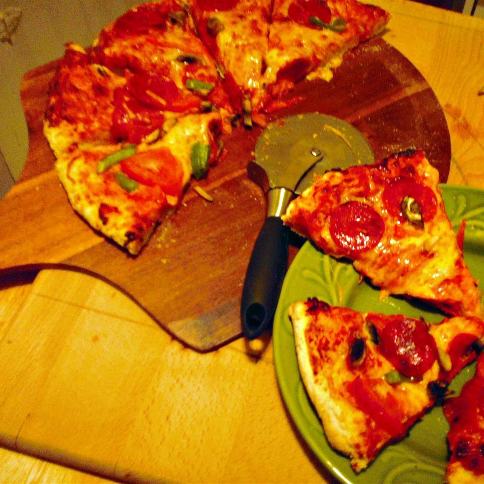Pizza Crust for Bread Machine