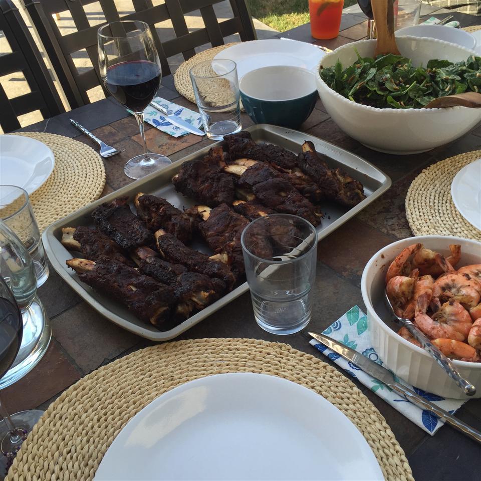 Grilled BBQ Short Ribs with Dry Rub Corey Biccum