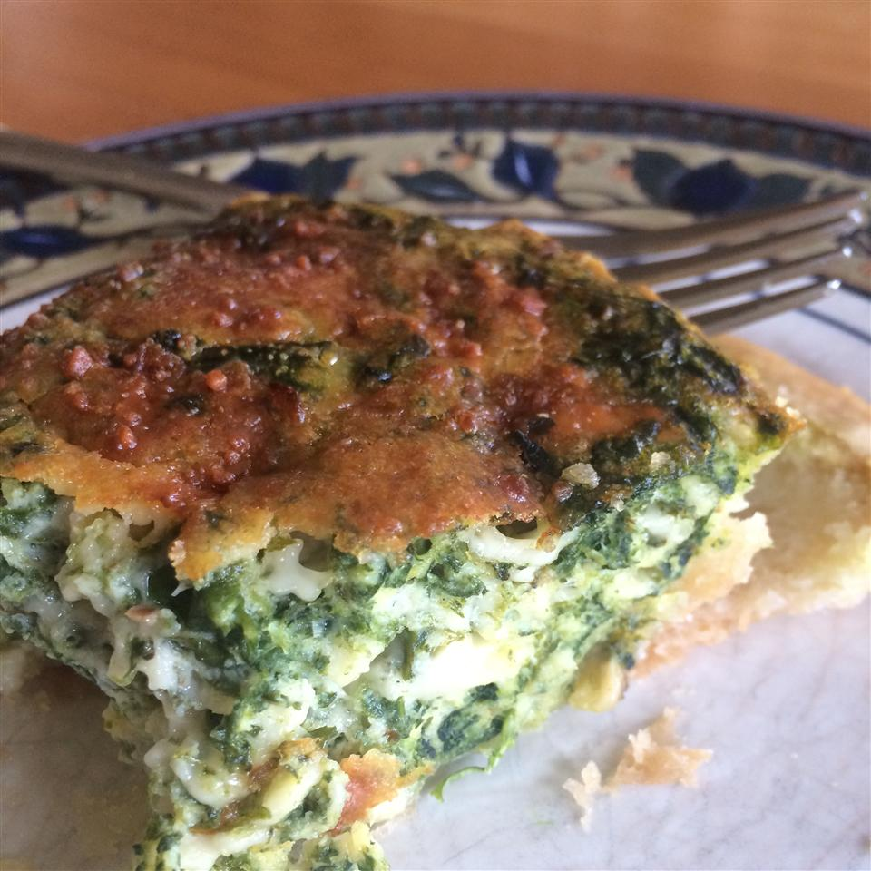 Spinach Quiche with Kid Appeal