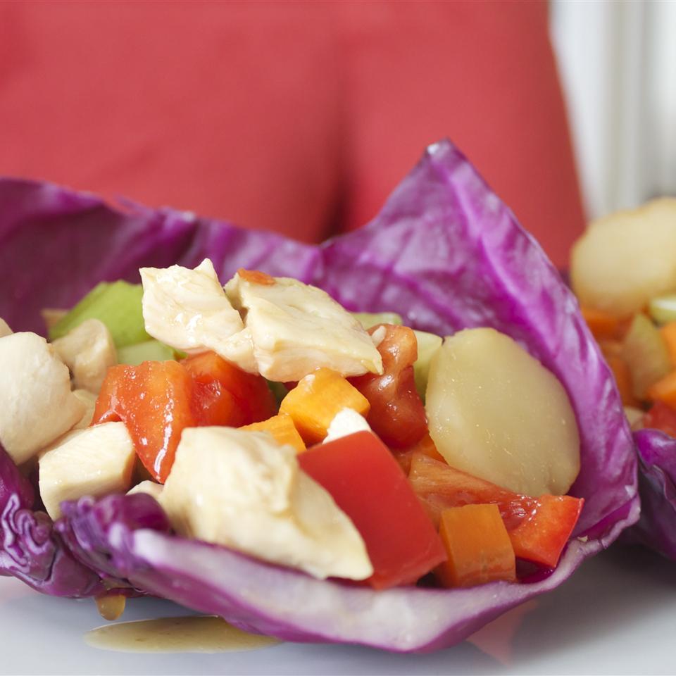 Chicken Cabbage Wraps