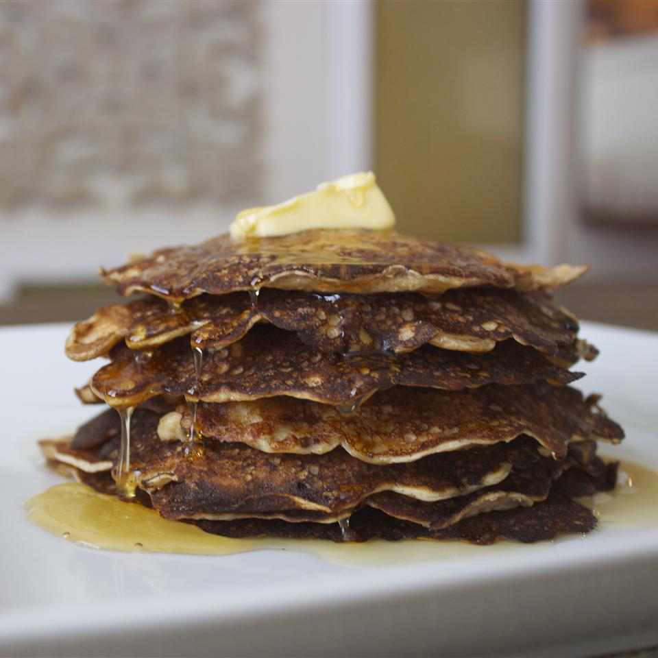 Overnight Oatmeal Pancakes
