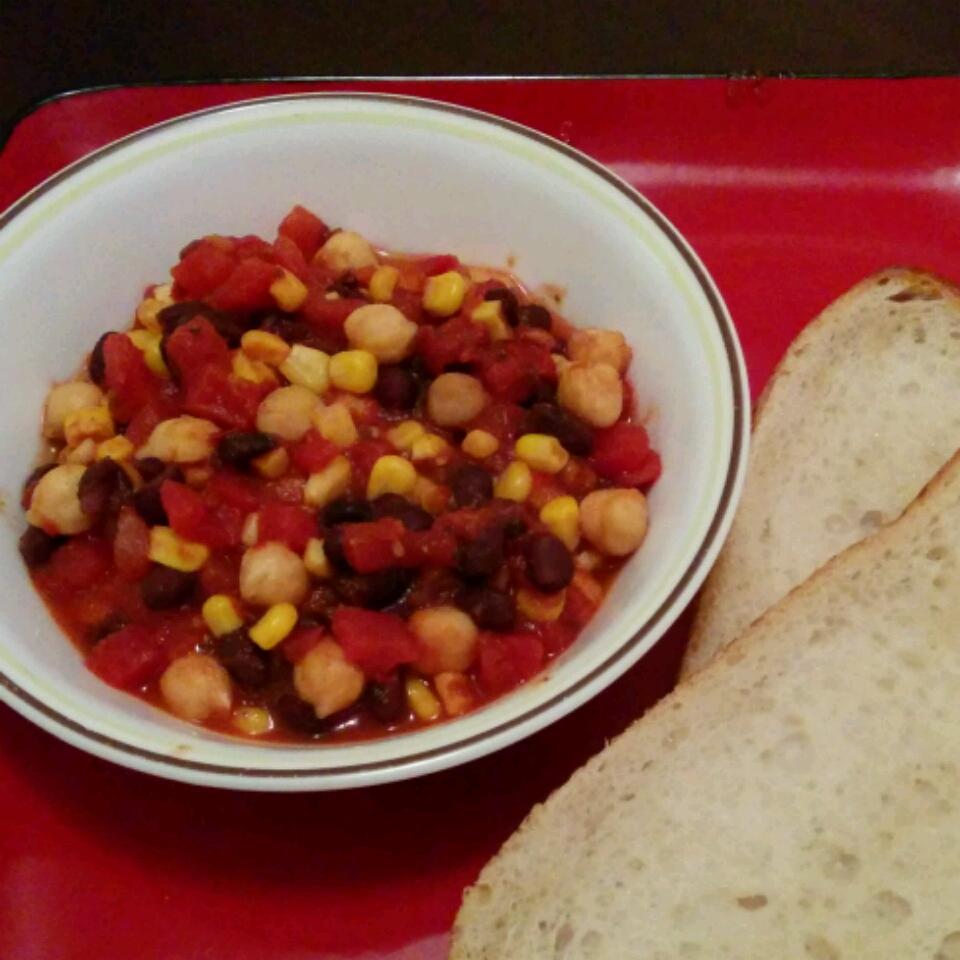 Quick Veggie Chili Ustad