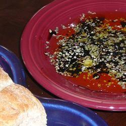 Olive Oil Dip for Italian Bread lovestohost