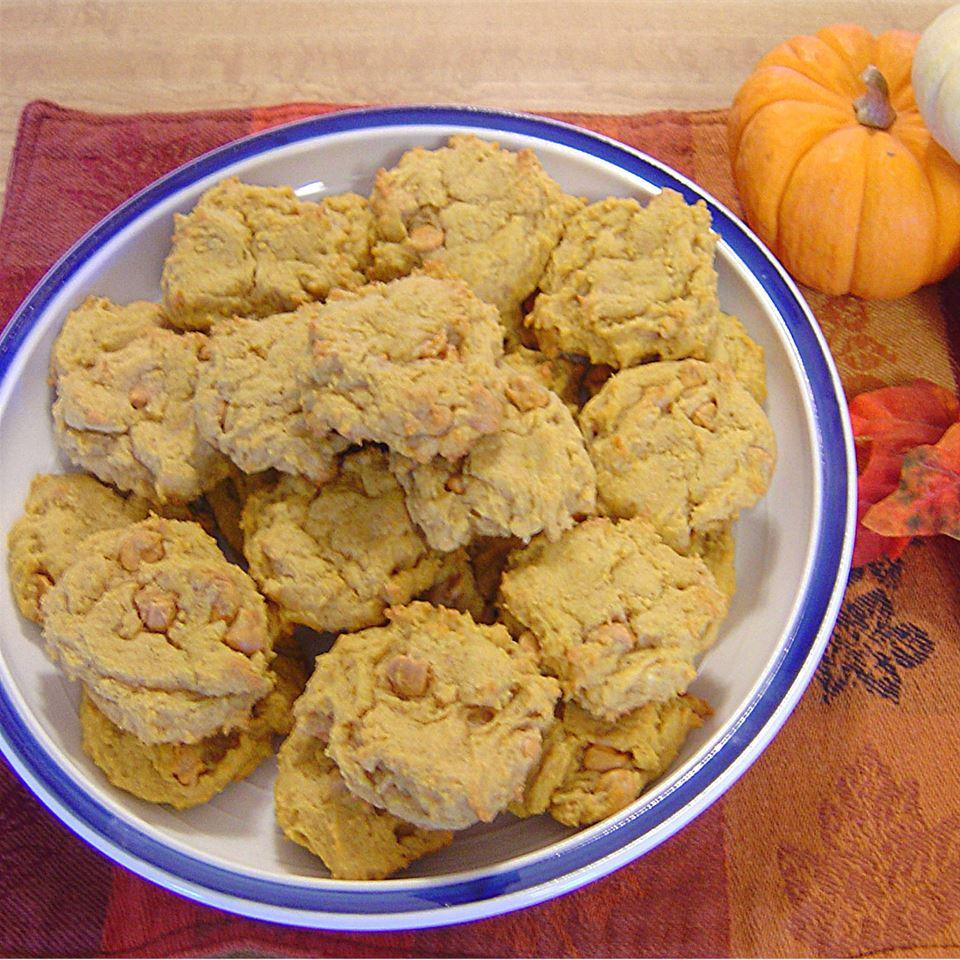 Pumpkin Cookies I M.J.