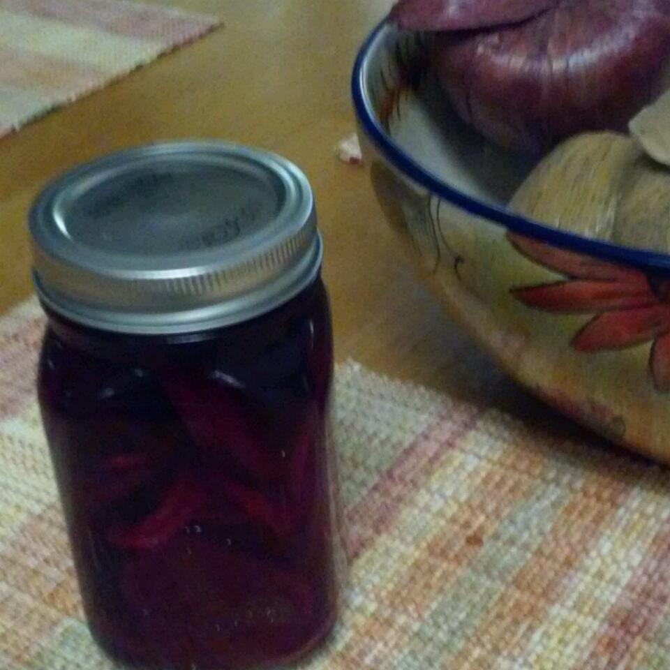 Scandinavian Pickled Beets