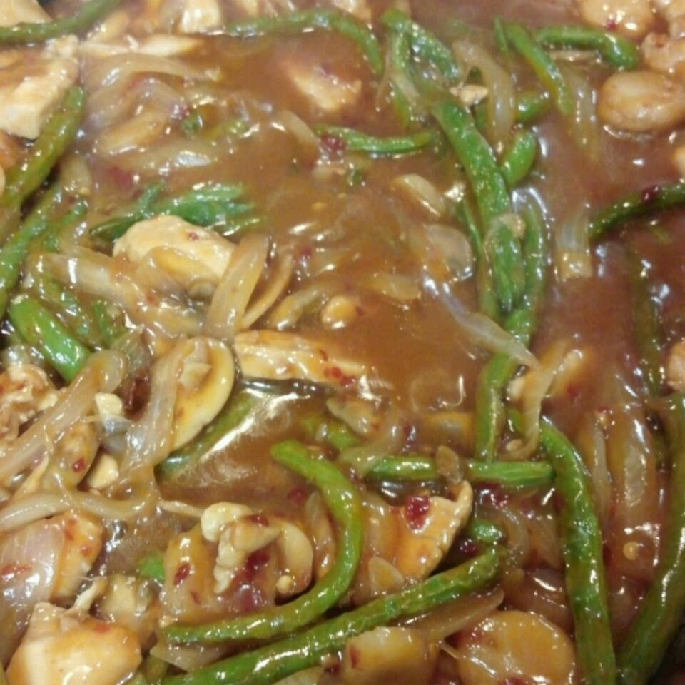 Spicy Green Beans and Pork, Asian Style bigtex361