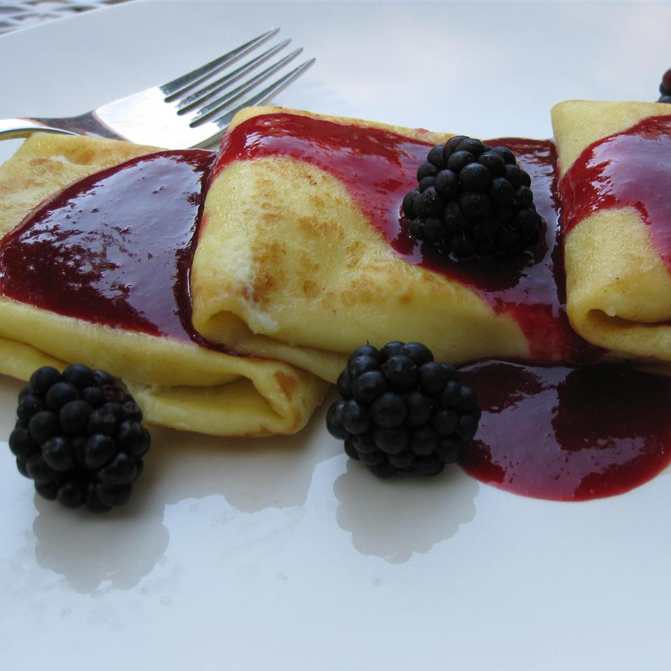 Chef John's Cheese Blintzes