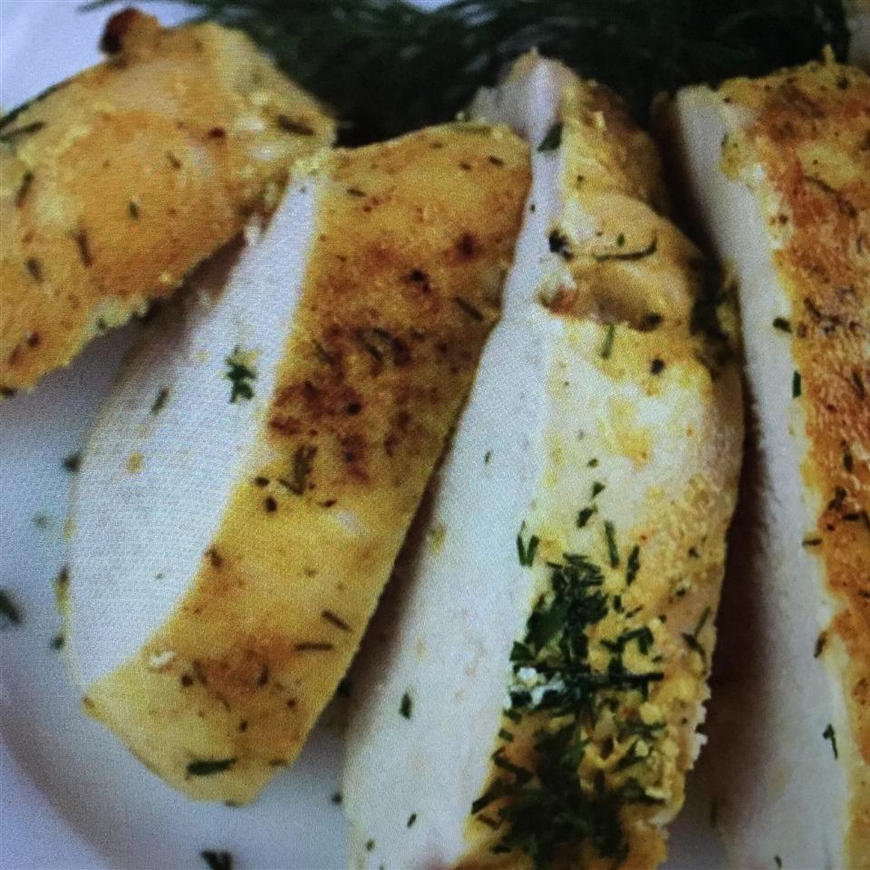 Greek Yogurt-and-Dill-Marinated Chicken