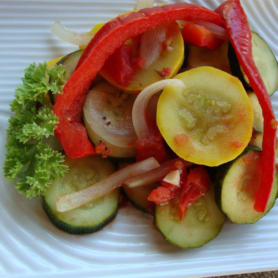 Summer Vegetable Ratatouille Rani