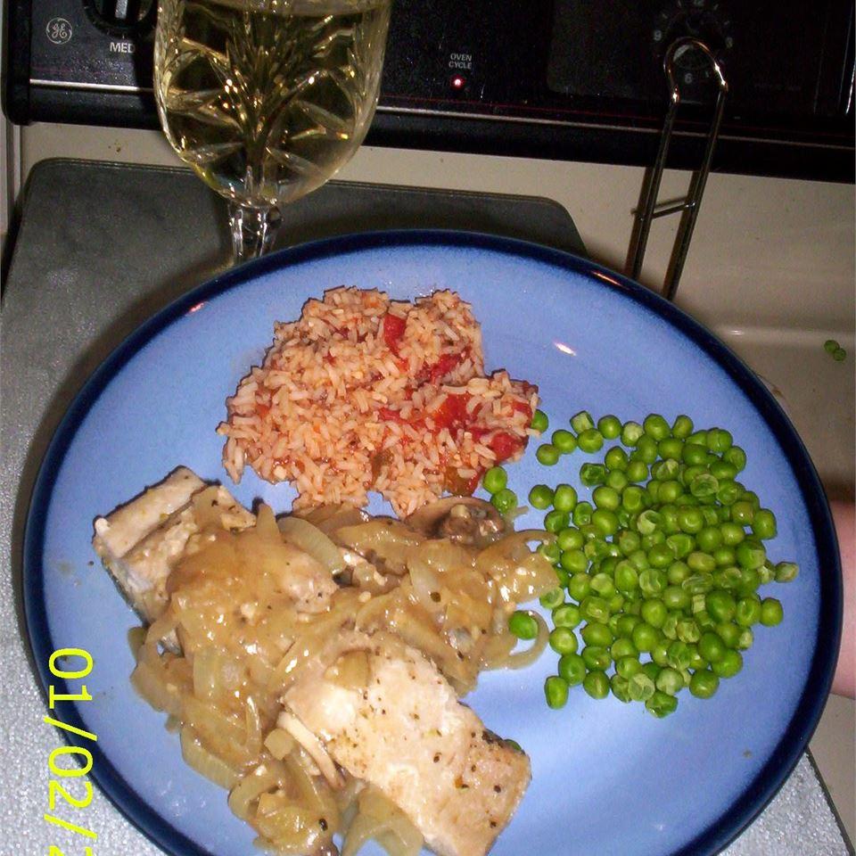 Mahi recipes food and wine Mahi Mahi With Onions And Mushrooms Recipe Allrecipes