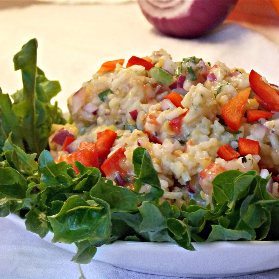 Lentil Rice Salad Baking Nana