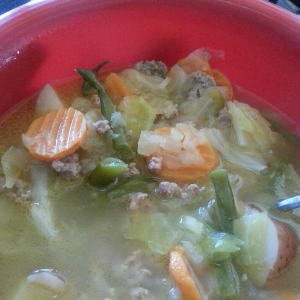 Ground Turkey Soup