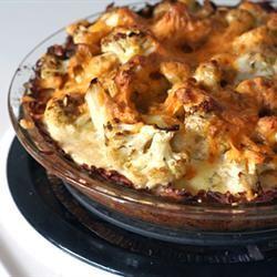 Cauliflower Cheese Pie terka