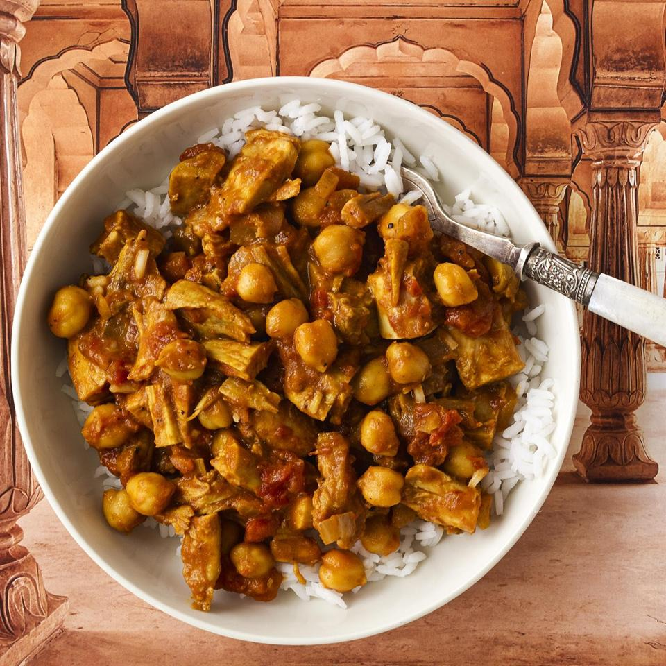 Sweet and Spicy Curry with Chickpeas Allrecipes Magazine