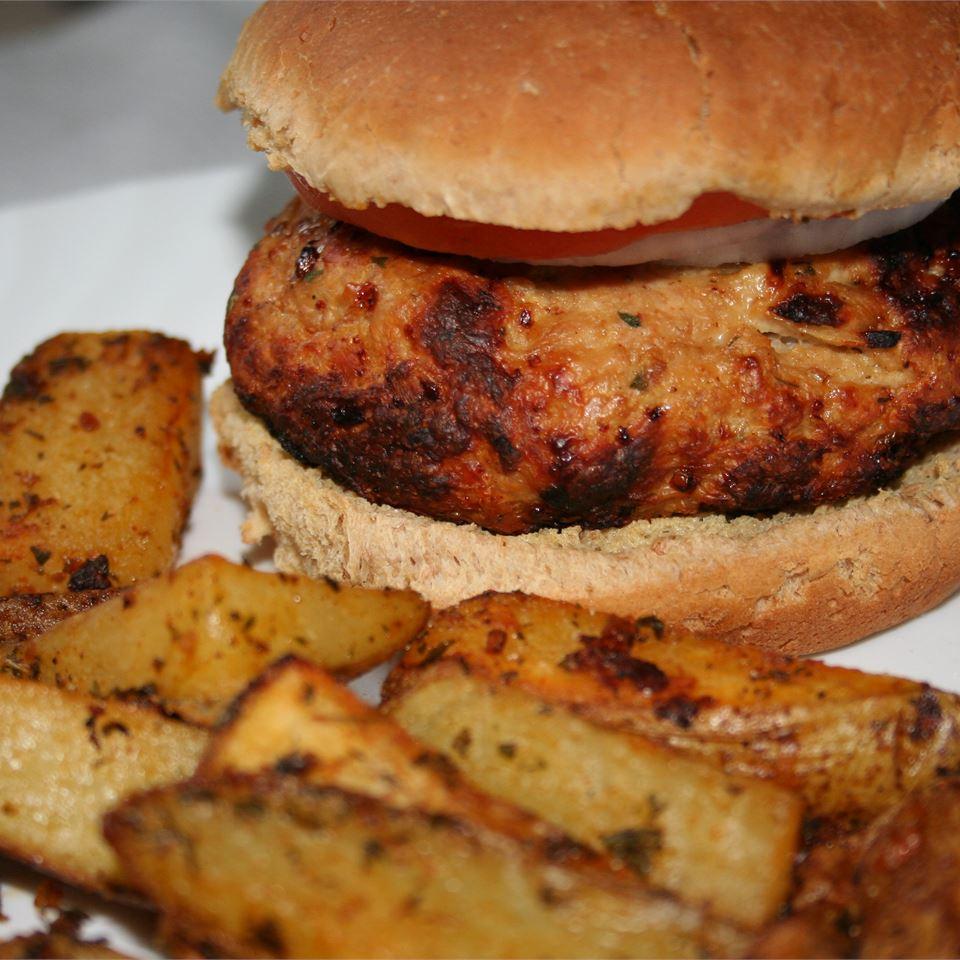 Spicy Turkey Burgers FRAN KUBICK