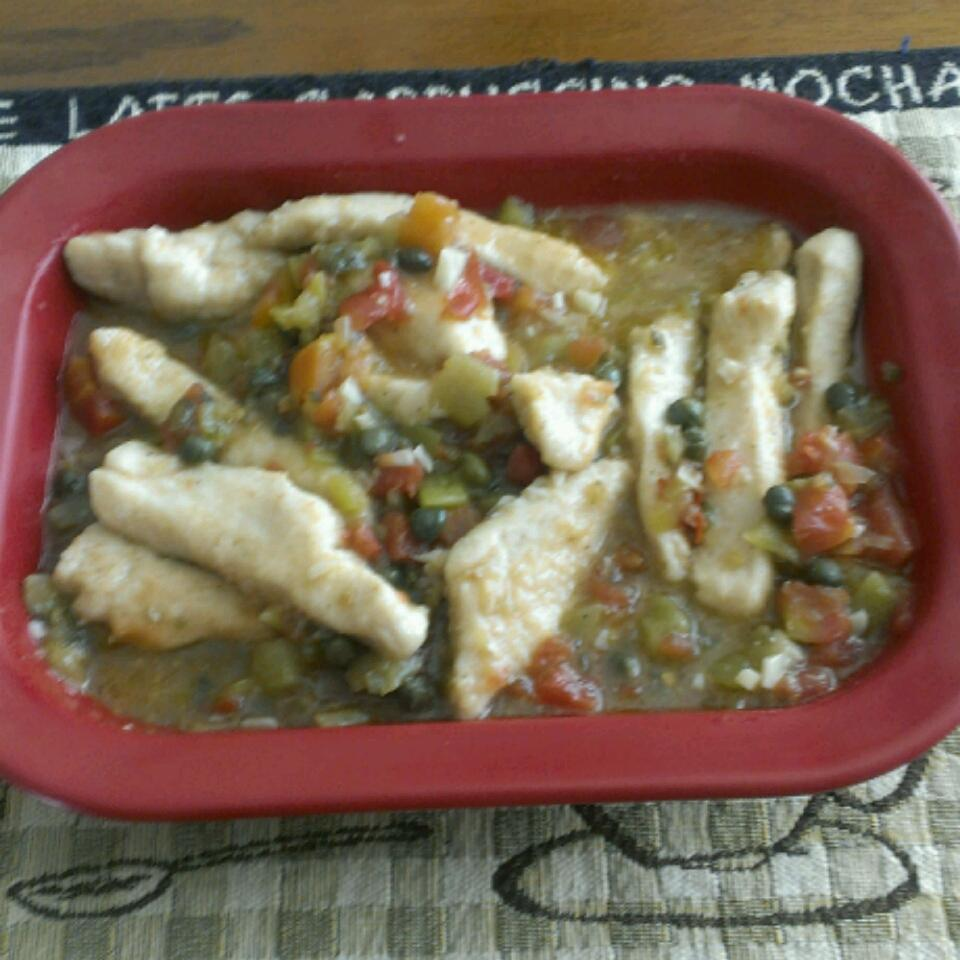 Quick and Easy Chicken Piquant Fred Baker