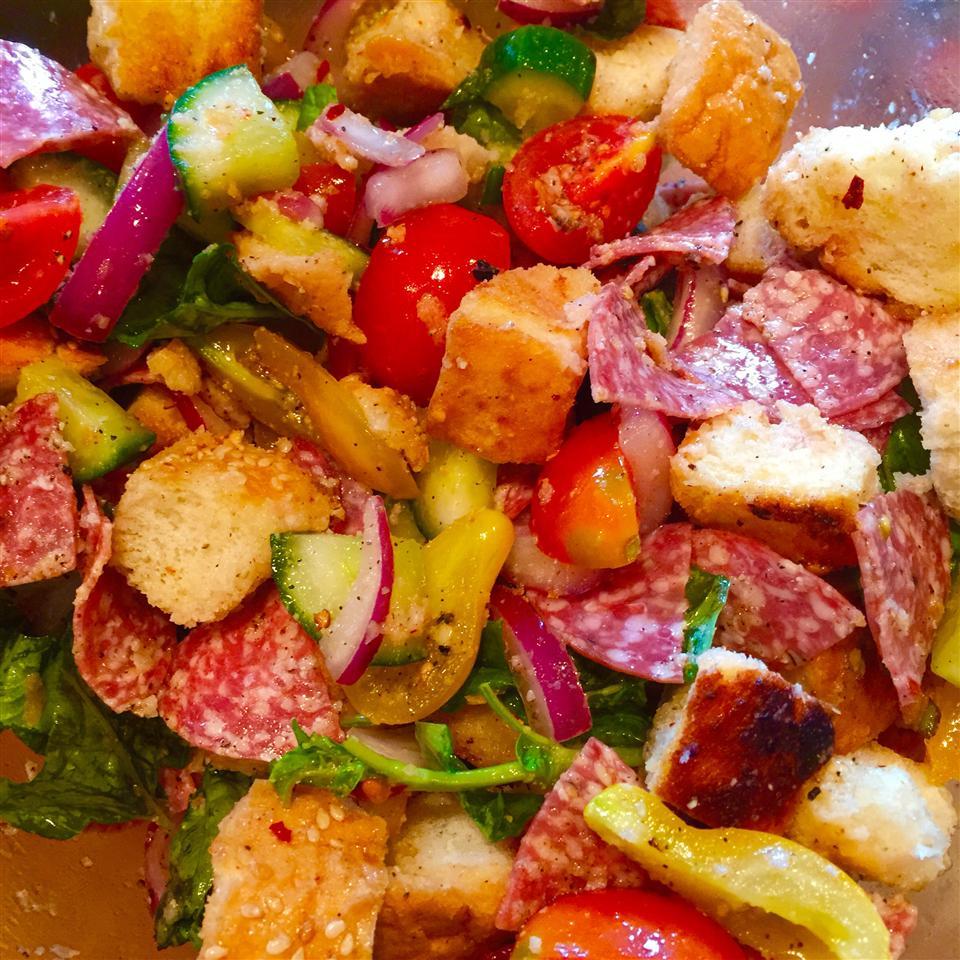 Mid-Summer Italian Bread Salad