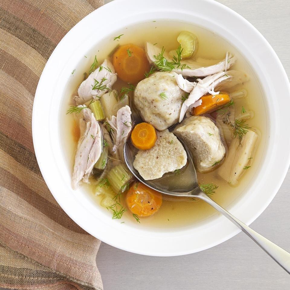 jewish chicken soup recipe