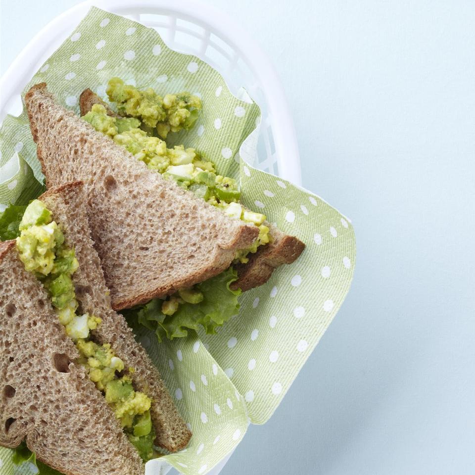 Delicious Avocado Egg Salad