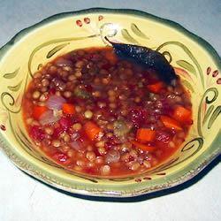 Hungarian Lentil Soup LucyDelRey