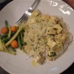 Thai Curry Tofu Melanie