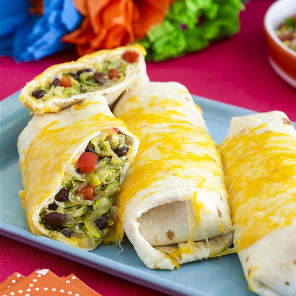 Squash and Zucchini Burritos Allrecipes Magazine