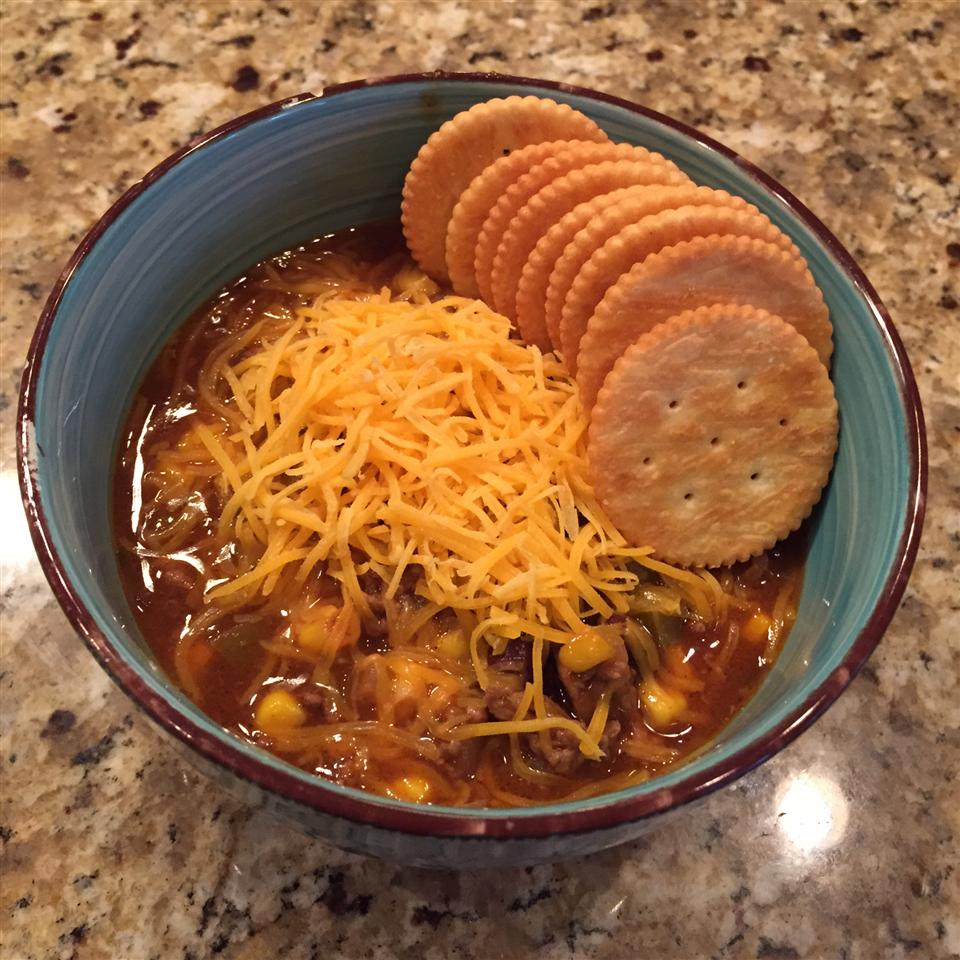 Slow Cooker Taco Soup with Ranch Dressing Mix Taynkade