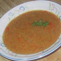 Favorite Lentil Soup sueb
