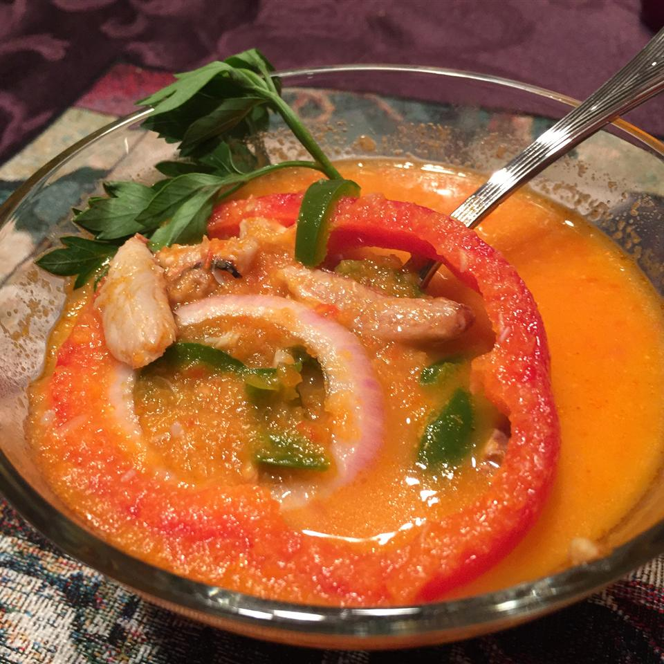 Chilapachole (Spicy Tomato Crab Soup) thedailygourmet
