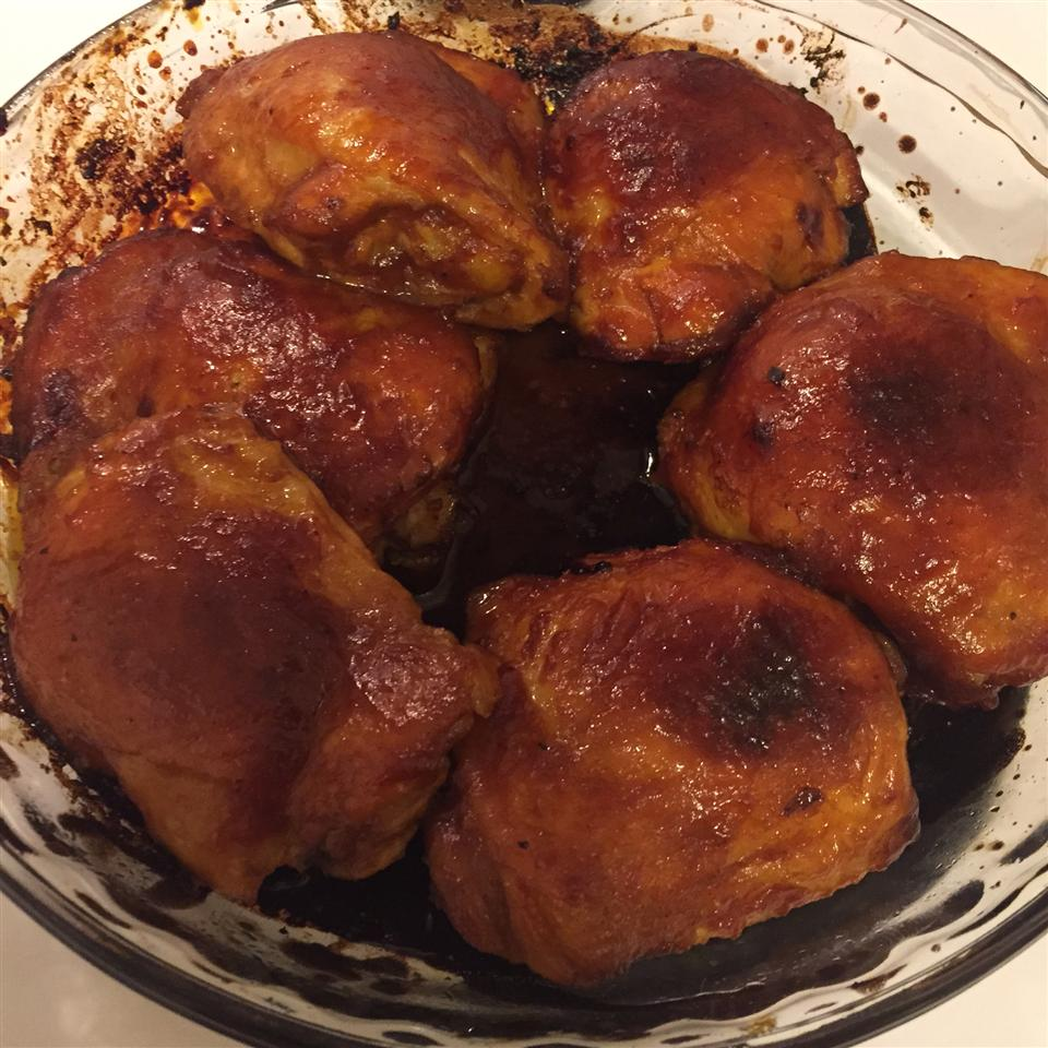 Yummy Baked Chicken Thighs in Tangy Sauce Gerard Smithwrick