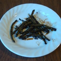 Dad's Pan-Fried Green Beans amandak23k
